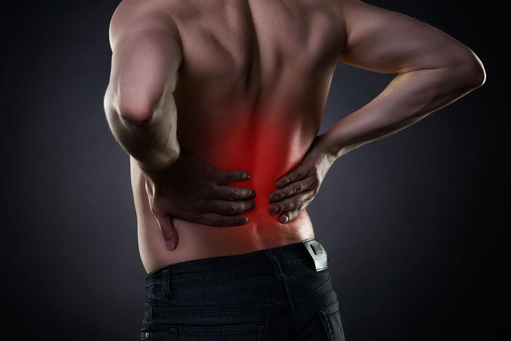 3 Sitzungen je 35 Minuten Schmerztherapie - Rückenschmerzen