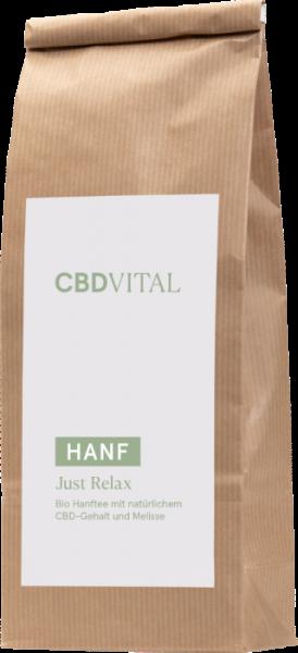 CBD Hanfblättertee Bio 1,5% - just relax