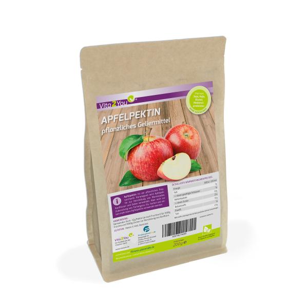 Apfelpektin - 200g - pflanzliches Geliermittel