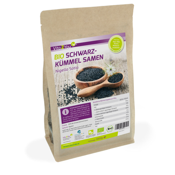 Bio Schwarzkümmel Samen 1kg