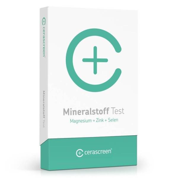 Mineralstoff Test für zu Hause