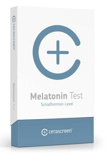 Melatonin Test von CERASCREEN | Testkit für Selbst-Test