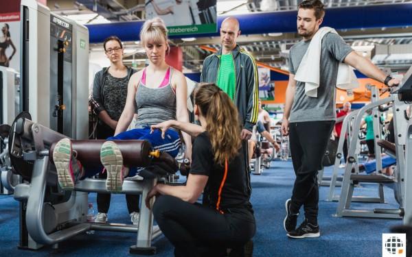 Fitnesstrainer B-Lizenz (Präsenzlehrgang inkl. 6 Präsenztage)