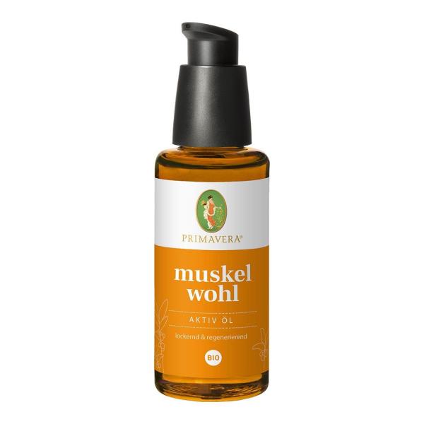 Muskelwohl Aktiv Öl bio (50ML)