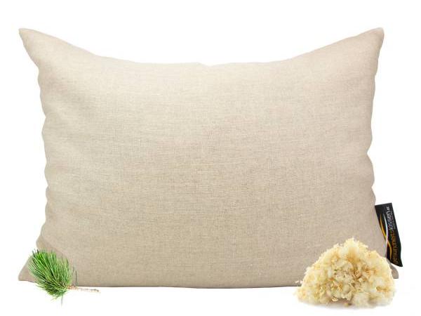 Bio Zirbenkissen von Zirbelino®, speziell zum Schlafen | 60x80cm