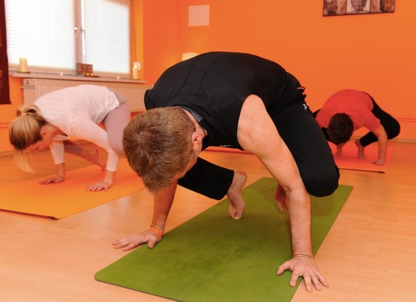 Arm und Hand im Yoga Workshop